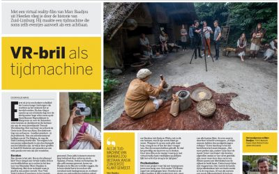 Artikel Virtual Reality film in de Limburger
