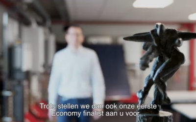 Eerste finalist Economy Award #Hesi