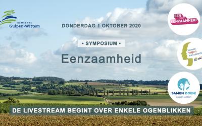 Livestream Symposium Eenzaamheid | Gemeente Gulpen-Wittem